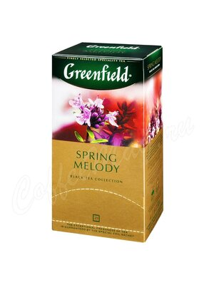 Чай Greenfield Spring Melody черный в пакетиках 25 шт.