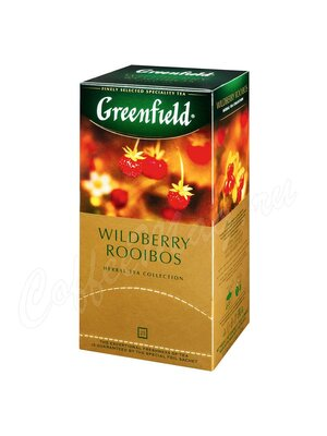 Чай Greenfield Wildberry Rooibos в пакетиках 25 шт.