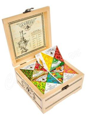 Сугревъ подарочный набор деревянная шкатулка (большая)