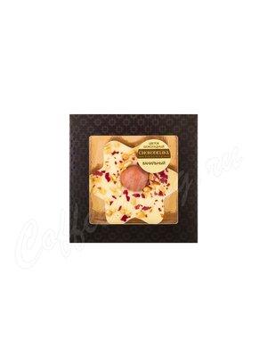 Шоколадное изделие Chokodelika «Цветок из ванильного шоколада» 35 гр