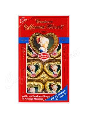 Шоколадные сердечки Reber