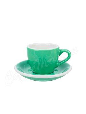Loveramics Чашка с блюдцем Egg 80 мл мятный