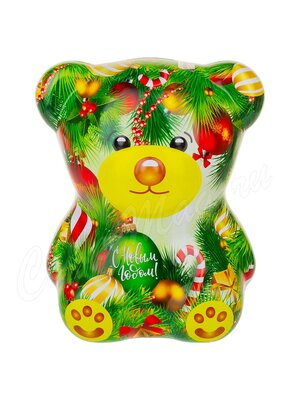 Чай Новогодний Зеленый Мишка Индийский черный 50 г ж.б.