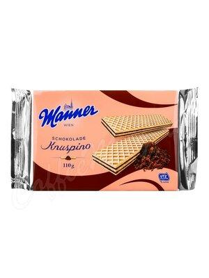 Manner Knuspino (Кнуспино) Вафли с шоколадным кремом 110 г