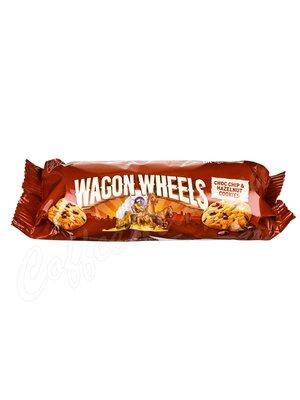 Wagon Wheels Печенье с фундуком и кусочками шоколада 136 г