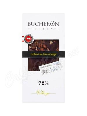 Шоколад Bucheron горький 100 г (кофе, апельсин)