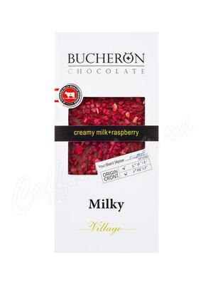 Шоколад Bucheron Молочный 100 гр (малина)