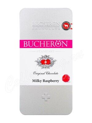 Шоколад Bucheron Молочный с малиной 100 г в мет. пенале