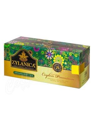 Чай Zylanica Ceylon Premium Green Tea 25 пак.