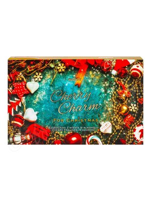Набор конфет Magnat Cherry Charm пралине из темного шоколада с вишнёвым ликером 145 г