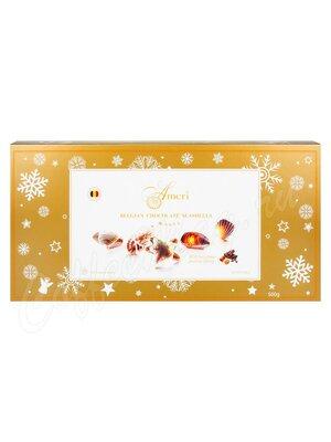 Ameri Шоколадные конфеты пралине 500 гр (золотая)