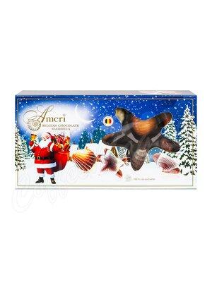 Ameri Шоколадные конфеты пралине Санта Клаус 125 гр (синяя)