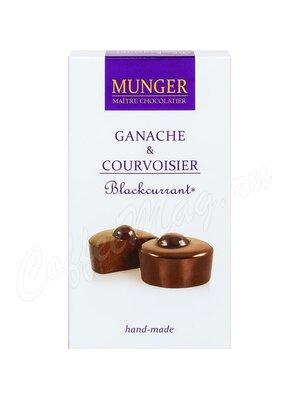 Шоколад D.Munger Ганаш с коньяком и черной смородиной 50 г