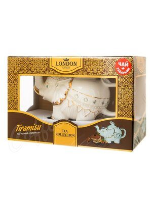 Чай London Tea Club Тирамису черный
