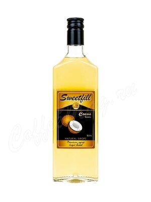 Сироп Sweetfill Кокос 0.5 л
