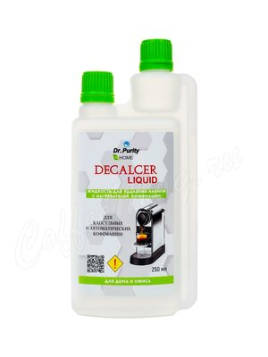 DrPurity Liquid Capsules 250 мл Жидкость концентрированная для удаления накипи в капсульных и автоматических машинах