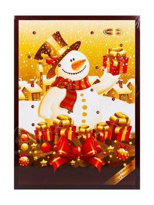 Chocoland Рождественский календарь Снеговик молочный шоколад 50 г