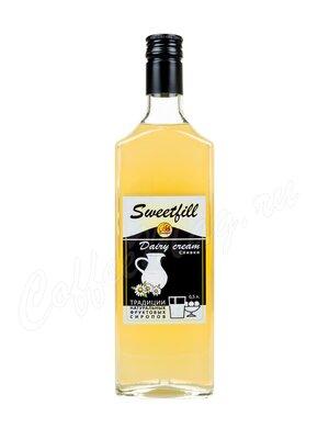 Сироп Sweetfill Сливки 0.5 л