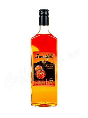 Сироп Sweetfill Апельсин 0.5 л