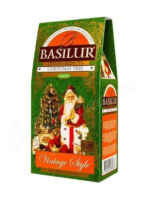 Чай Basilur Винтаж Рождественская Ель зеленый 85 г