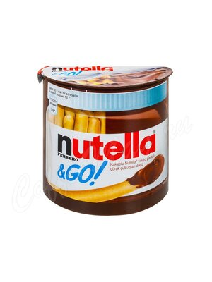 Nutella Набор из хлебных палочек и пасты Нутелла 52 гр