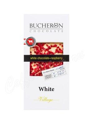 Bucheron Белый шоколад с кусочками малины 100 гр