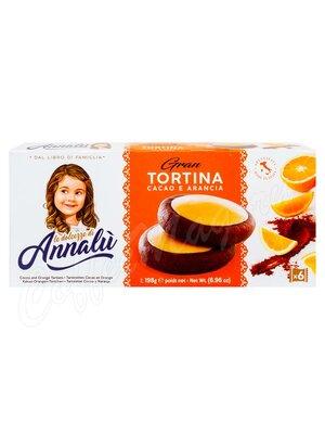 Annalu Тарталетки шоколадные с начинкой из апельсина 198 г