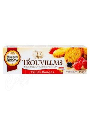 Biscuits de lAbbaye Печенье сдобное сливочное с лесными ягодами 150 гр