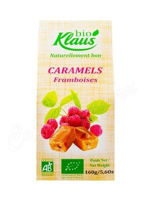 Klaus Карамель мягкая с начинкой из малины 160 г