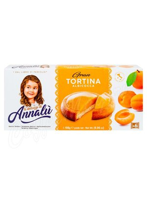Annalu Тарталетки с абрикосовой начинкой 198 г
