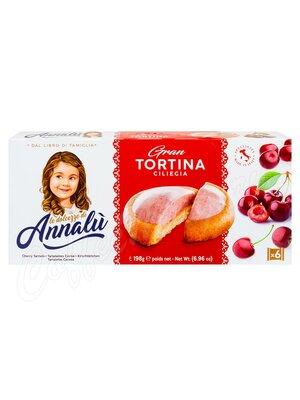 Annalu Тарталетки с вишневой начинкой 198 г