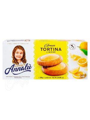 Annalu Тарталетки с лимонной начинкой 198 г