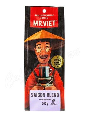 Кофе Mr Viet молотый Сайгонская смесь 200 г