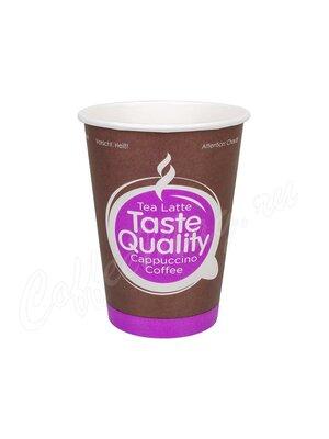 Стакан бумажный одноразовый Taste Quality 300 мл
