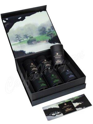 Kioko Kaze Matsu Подарочный набор черного, зеленого чая и улуна  6 шт-15 г