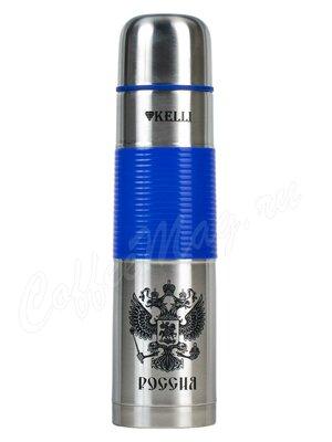 Термос Kelli KL-0938 1 л  (синий)