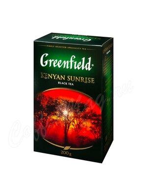 Чай Greenfield Kenyan Sunrise черный 200 г