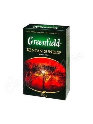 Чай Greenfield Kenyan Sunrise черный 100 г