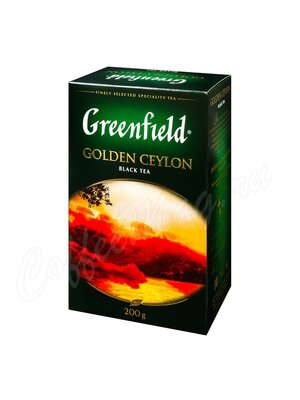 Чай Greenfield Golden Ceylon черный 200 г