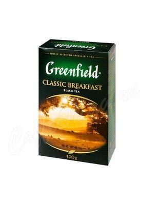 Чай Greenfield Classic Breakfast черный 100 г