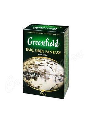 Чай Greenfield Earl Grey Fantasy черный 100 г