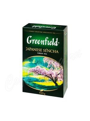 Чай Greenfield Japanese Sencha зеленый 100 г