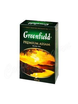 Чай Greenfield Premium Assam черный 100 г