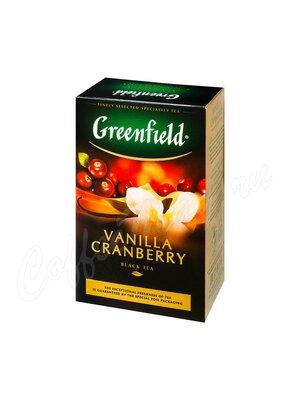Чай Greenfield Vanilla Cranberry черный 100 г