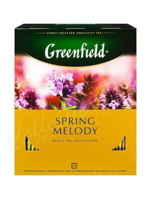 Чай Greenfield Spring Melody черный в пакетиках 100 шт.