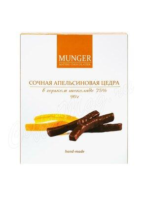 D.Munger Сочная апельсиновая цедра в горьком шоколаде 75 % 90 г