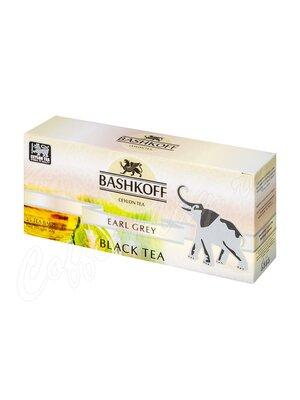 Чай Bashkoff Earl Grey черный с бергамотом 25 пак