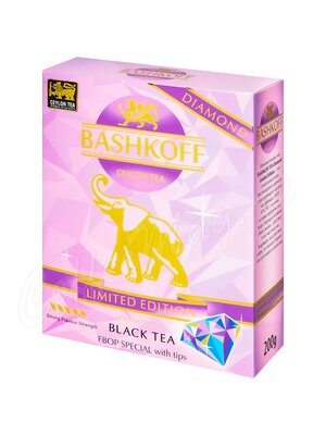 Чай Bashkoff Diamond Limited Edition FBOP черный с типсами 200 г