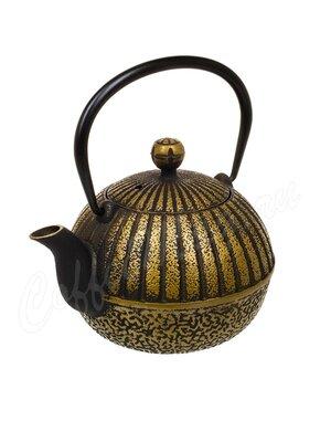 Чайник чугунный 600 мл золотой T-004