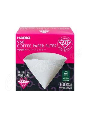 Hario Фильтры бумажные для воронок 100 шт